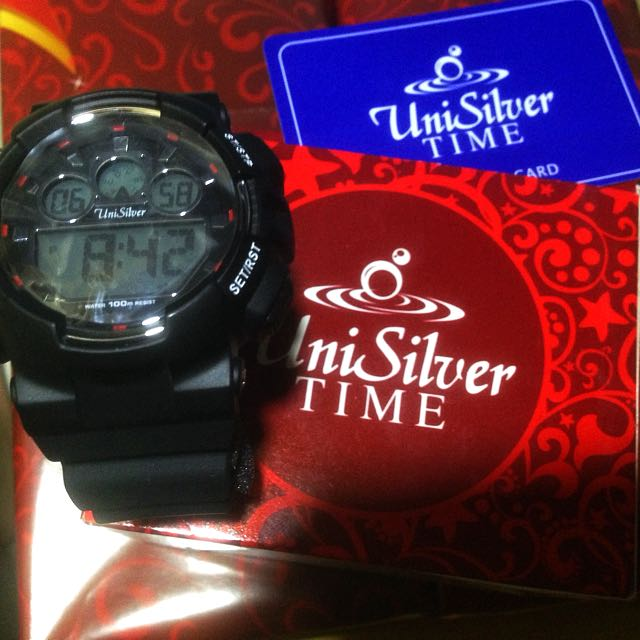 UniSilver TIME Men's Watch