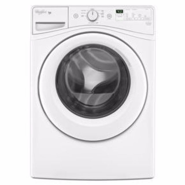 Whirlpool® Duet® 4.8 cu. ft. I.E.C.* HE Front Load Washer with Adaptive Wash Technology and Whirlpool® Duet® 7.3 cu. ft. I.E.C.* HE Dryer with Advanced Moisture Sensing