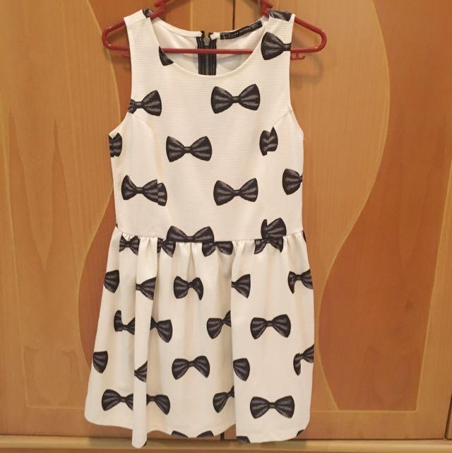 Zara Women Ribbon Dress