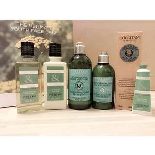 🚚 L'Occitane 歐舒丹格拉斯系列沐浴身體組、草本淨涼洗潤髮組、乳油木護手霜、格拉斯護手霜(不拆售)