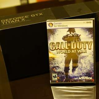 PC Game - Call Of Duty (World At War)