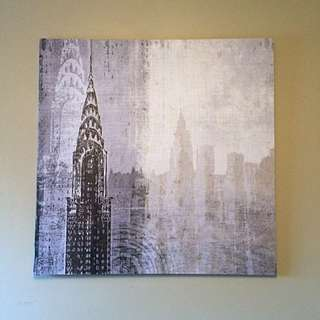 New York City Canvas Painting