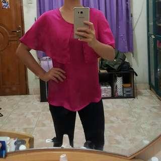 Magenta blouse