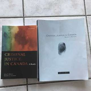 CRI210 Textbooks