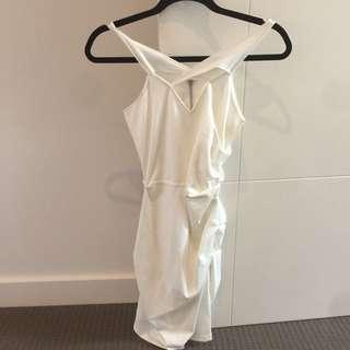 Talulah Dress BNWT The Topaz Stone Dress Size Xs Off- White