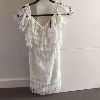 Piperlane BNWT White Dress Size 10