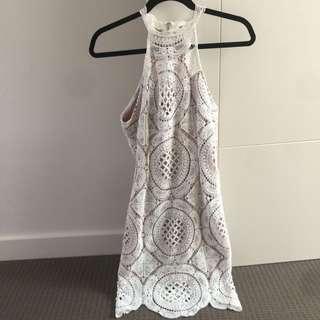 Off White Lace Dress Size 12