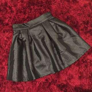 Shiny Black Skirt *Brand New*