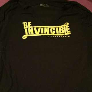 "Nike ""Livestrong"" V-neck Shirt"