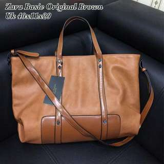 Tas Zara Basic Original