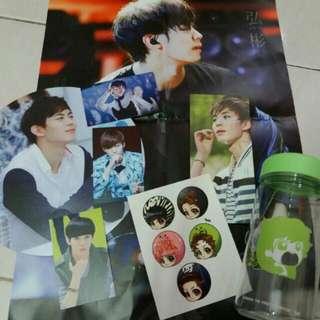 INTEREST CHECK: VIXX Hongbin Fansite Birthday Support Goods