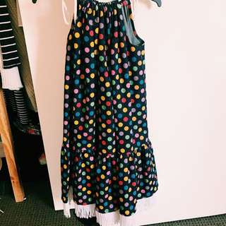 Gorman Inspired Polka Dot Dress! Made And Designed By Me!