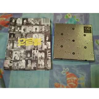 Kpop albums: EXO, Super Junior, SHINee and MBLAQ