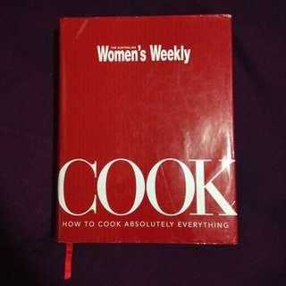 """Women's Weekly """"COOK"""" Cook Book"""