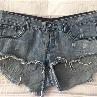 One Teaspoon Denim Cutoff Shorts