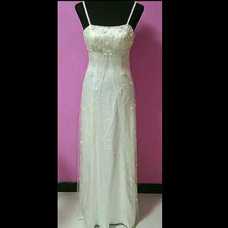 BN White Gown (Bought In USA)