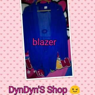 Blazer Aqua Blue
