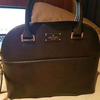 NEW Kate Spade Black Carli Grove Street Handbag