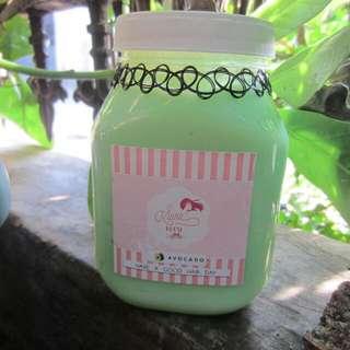 Hair Creambath Alpukat/Avocado Laklara