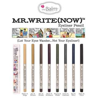 The Balm Mr. Write (Now) eyeliner Pencil