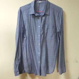 🚚 長袖條紋襯衫