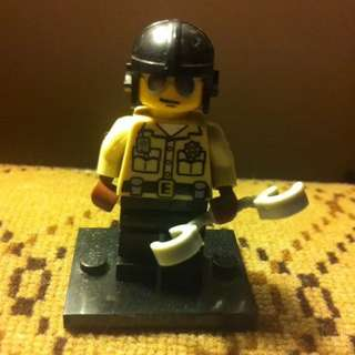 Lego Collectable Minifigure - Traffic Cop - Series 2