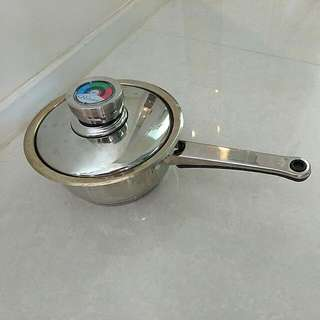 17cm 長柄不銹鋼小湯窩 17cm Stainless Steel Cooking Pot
