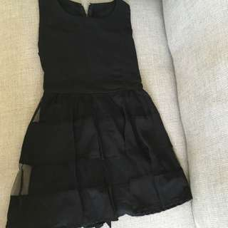 Bangkok Black Mini Dress
