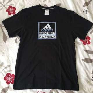 Adidas Black Casual T-Shirt