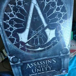 PS4 Assassin's Creed Unity Notre Dame Edition With Statue
