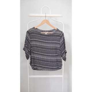 (REPRICE) H&M Pattern Blouse