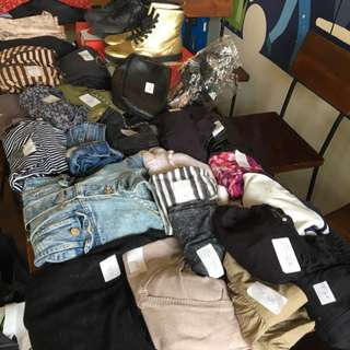 Zara, stradivarius, mango, HnM and many more ( garage sale deal)