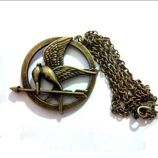 Hunger Games Mocking Jay Necklace Pendant