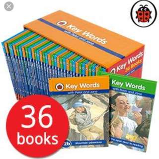 Ladybird Key Words with Peter & Jane Complete Slipcase Set (2016 Edition)