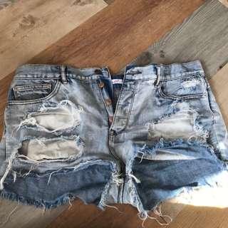 Destressed Shorts