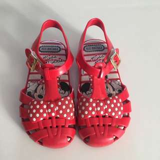 [RESERVED] Mini Melissa Minnie Mouse Sandals (US 9)
