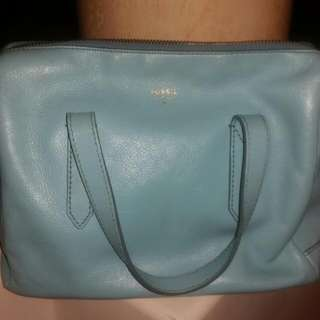 Fossil Light Blue Bag