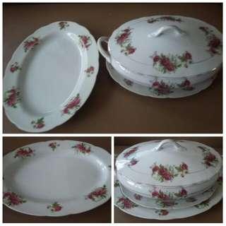 Porcelain Set (Made In Japan)