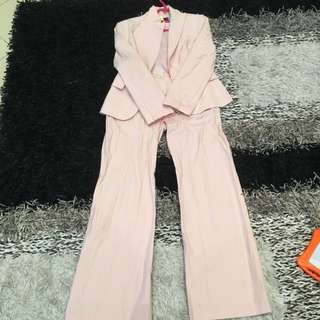 Authentic Tokito Light Pink Suit