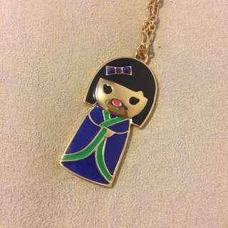 Kate Spade Geisha Pendant Necklace