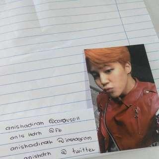 BTS Jimin Photocard BTS Itmol Pt.2