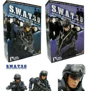 Hot Toys SWAT 3.0 (Sell As Set Of 2)