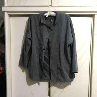 全新深灰色薄外套 #外套特賣#四百不著涼