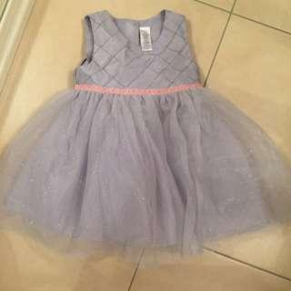 Silver  Tutu Dress