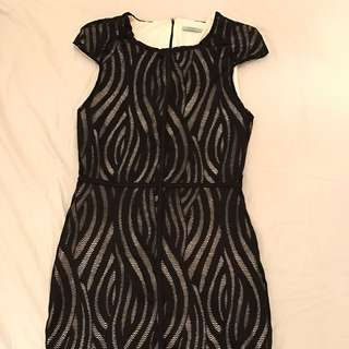 Kookai Little Black Funky Dress