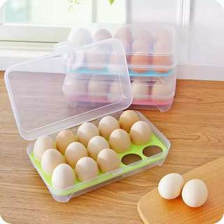 Egg Tray  [Storage Of 15pcs]