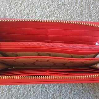 Oroton Gardenia Zip Wallet