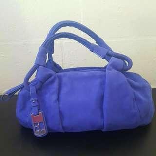 Hugo Boss Orange Leather Handbag