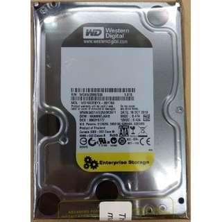 """[二手] WD 黑盤 企業版 3.5"""" SATA 1TB Harddisk 3.5吋 硬盤 WD1003FBYZ ~ 7日保用"""