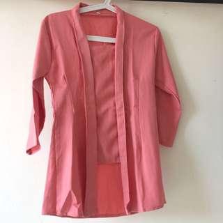 Kebaya Pink Soft